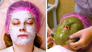EFFECTIVE FACIAL LIFE HACKS 5 Minute Beauty Recipes For Girls