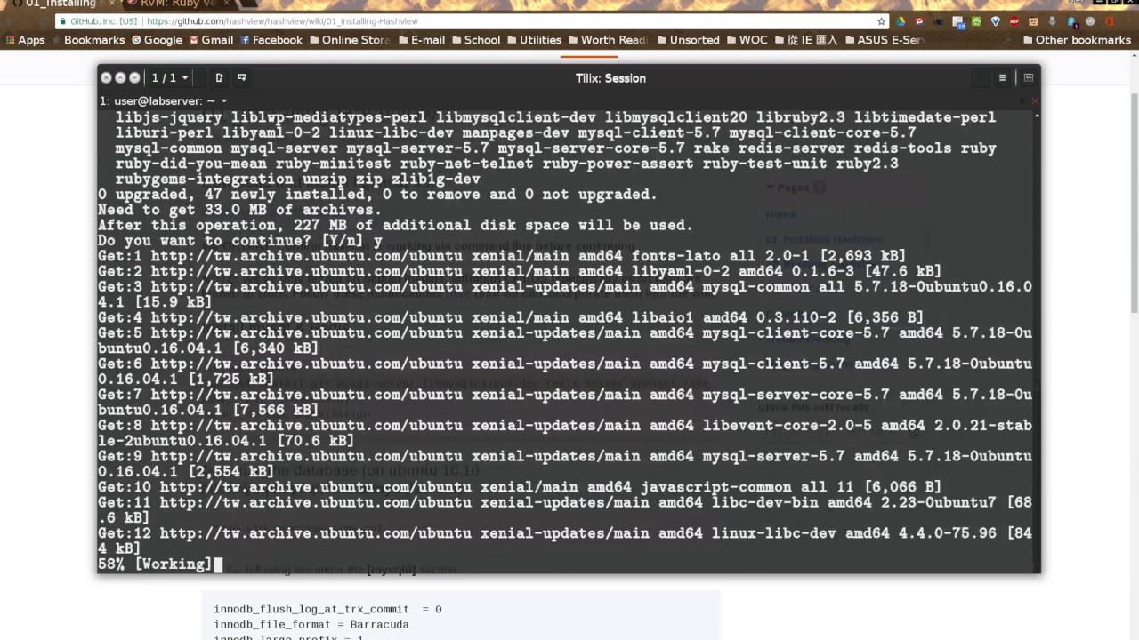 install rvm ubuntu 16.04