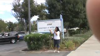 Woman Evangelist Anita Fuentes DMV Preaching, San Bernardino, CA 8.18.10 YAY.wmv