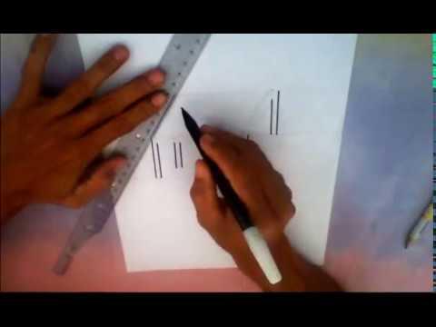 Cara Menggambar Dan Mewarnai Meja Dengan Krayon Youtube