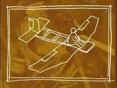 Scrap heap challenge flying machines