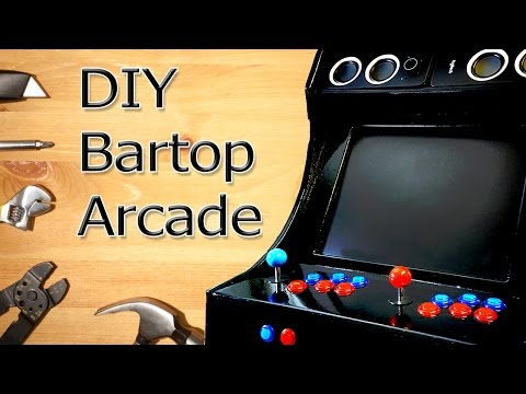 DIY Bartop Arcade (Templates included !)