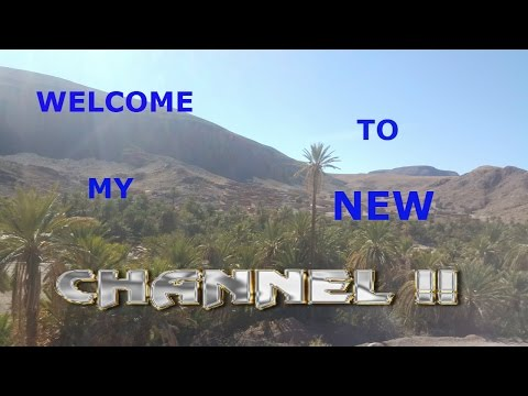 WELCOME TO MY NEW CHANNEL!