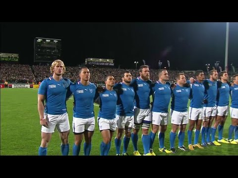 ANTHEM: Namibia belt out Land of the Brave