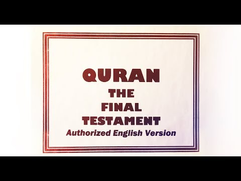44) Quran Study No.5, Sura 64 by Rashad, Nothing happens except, Sura 70 by Edip - worry - chastity