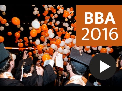 2016 Texas BBA Commencement