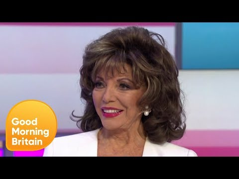 Dame Joan Collins on Choosing the Actress to Play Her in TV Miniseries | Good Morning Britain