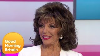 Dame Joan Collins On Choosing The Actress To Play Her In Tv Miniseries   Good Morning Britain