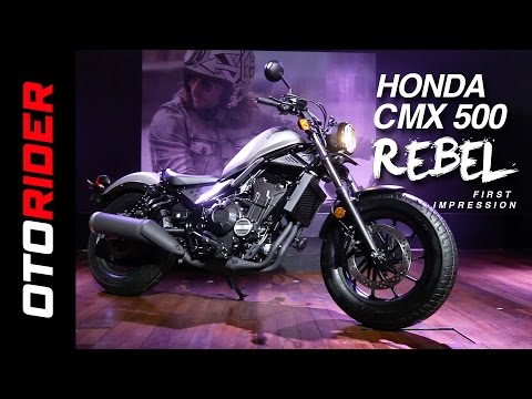 Honda CMX500 Rebel 2017 First Impression Review - Indonesia | OtoRider