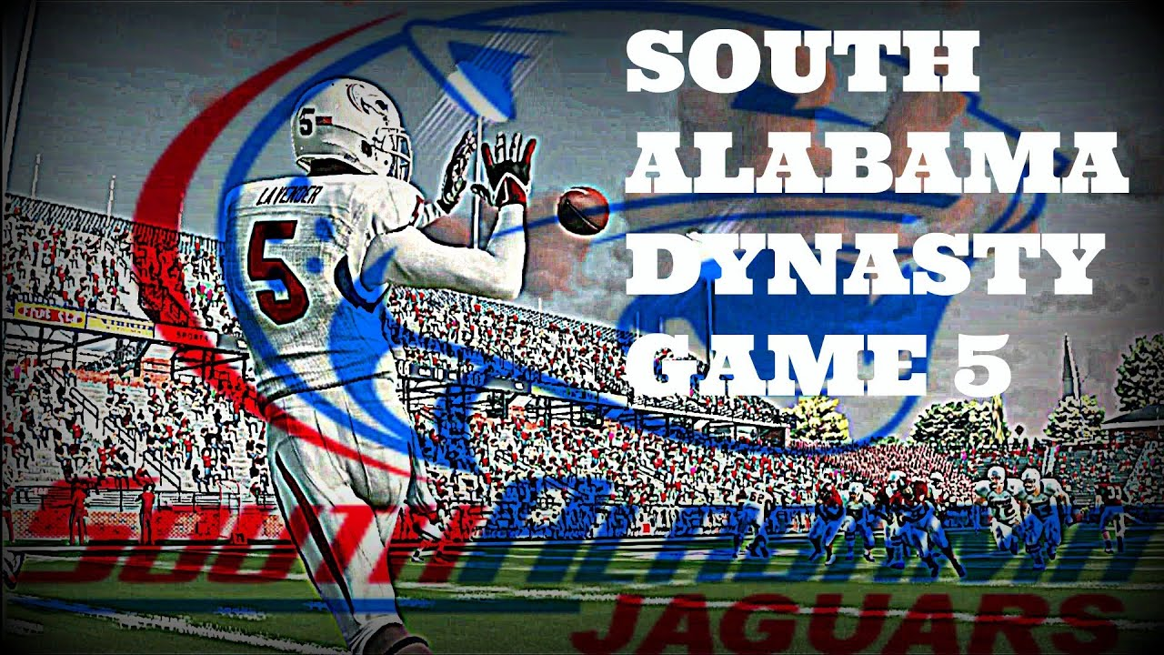 Ncaa football 14 university of south alabama dynasty game 5 ncaa football 14 university of south alabama dynasty game 5 sciox Image collections