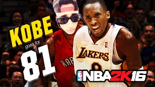 KOBE BRYANT 81 POINT CHALLENGE FAIL || NBA 2K16 MYTEAM