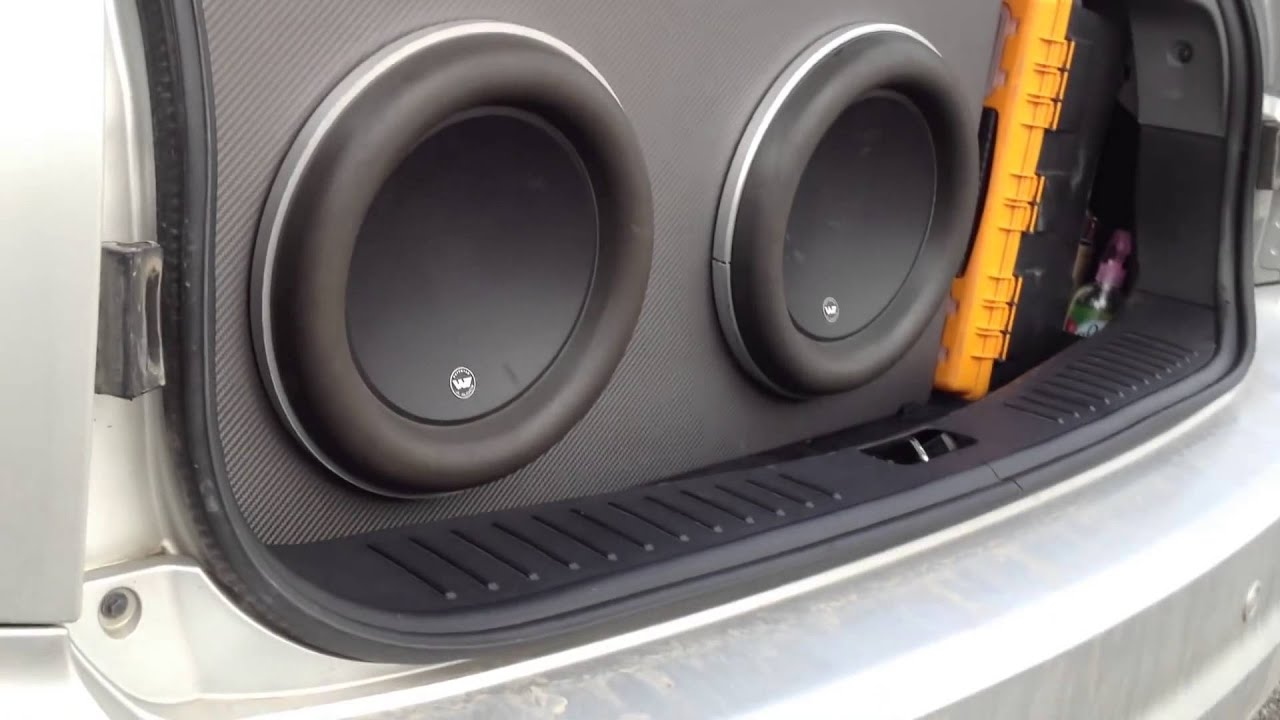Subwoofer Videos. jl audio 12w7 on Rockford Fosgate power