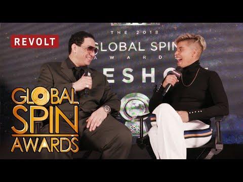 Kid Capri talks working on Kendrick's album 'DAMN.' | Global Spin Awards