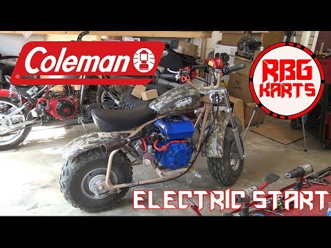 Coleman CT200U EX Electric Start