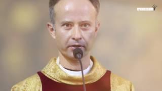 Inowrocław - przekazanie parafii Świętego Krzyża franciszkanom (zdjęcia)