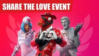 Fortnite - Teilen Sie die Love Event Info & Support A Creator Code!