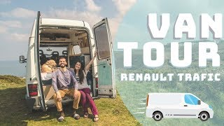 Van TOUR of our OLD Renault Trafic!