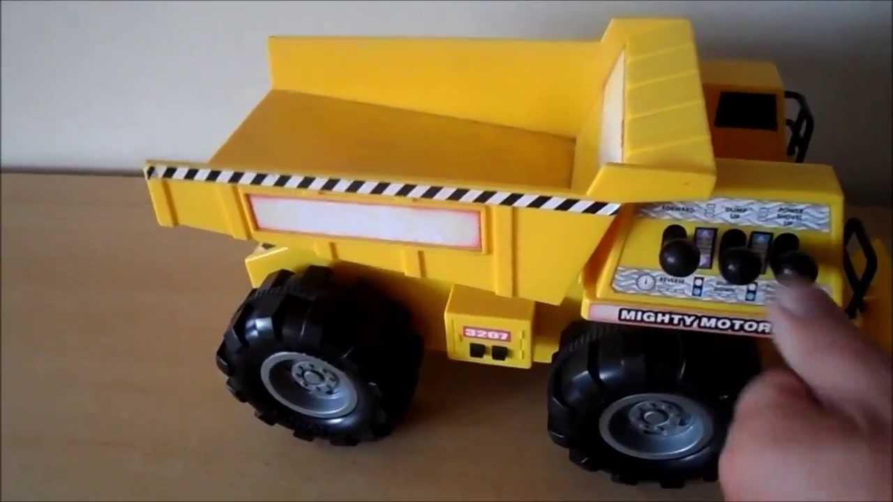Tonka Toy Trucks >> Overview of 3207 TONKA TOY TRUCK MIGHTY MOTORIZED TIPPER - YouTube