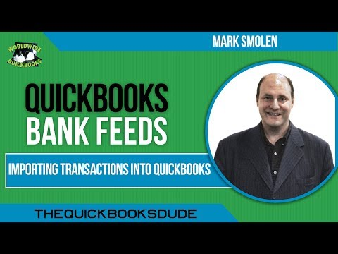 Importing Transactions Into QuickBooks with IIF Files