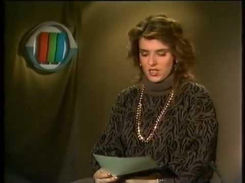 TVAnsage Carola Christina Schmidt 1986