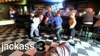 Jackass 3 (2010) - Bar Fight Scene ft. Midgets