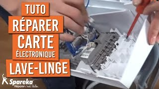 Remplacer Carte Electronique Lave Linge