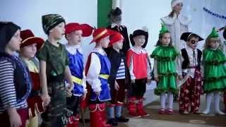 Зажигательный сценарии на Новый год (Красная шапочка) (Видео Высочкиной Светланы)