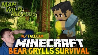 Minecraft: Bear Grylls Survival [Role-Play] - EAT EVERYTHING, DRINK YOUR OWN PISS!
