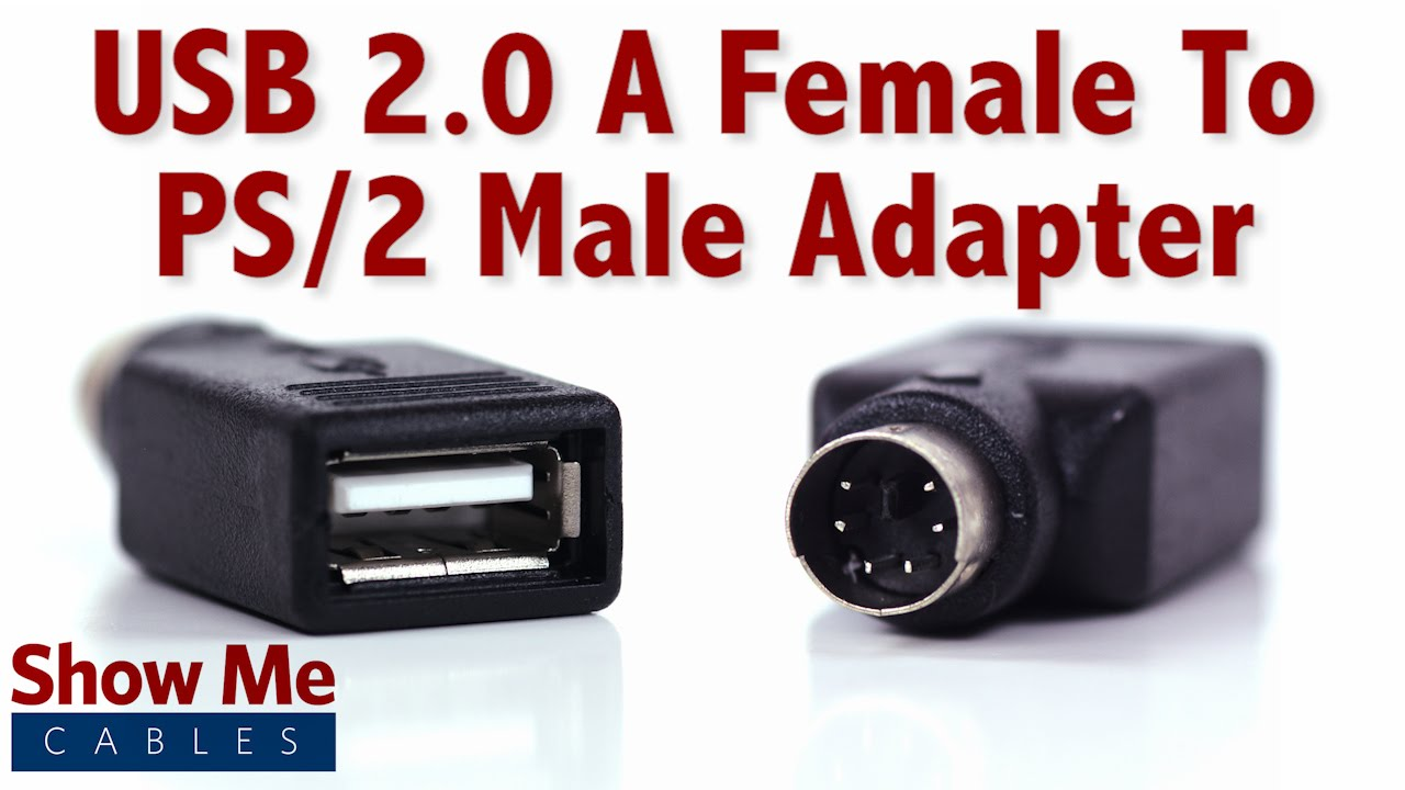 easy to use usb 2 0 a female to ps 2 male adapter use an newer mouse on a ps 2 port 3509 [ 1280 x 720 Pixel ]