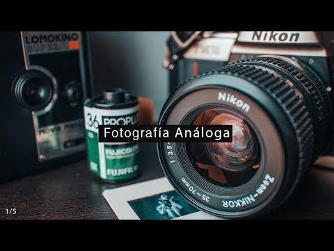 Fotografía analógica 35 mm (Revelando Rollos) México