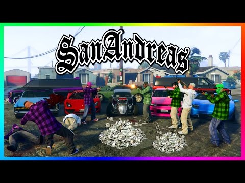 GTA ONLINE 'RETURN TO SAN ANDREAS' SPECIAL - BEST GTA 5 CJ CARL JOHNSON EASTER EGGS, SECRETS & MORE!