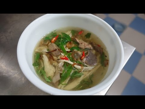 CHICKEN GLASS NOODLE SOUP - Mien Ga