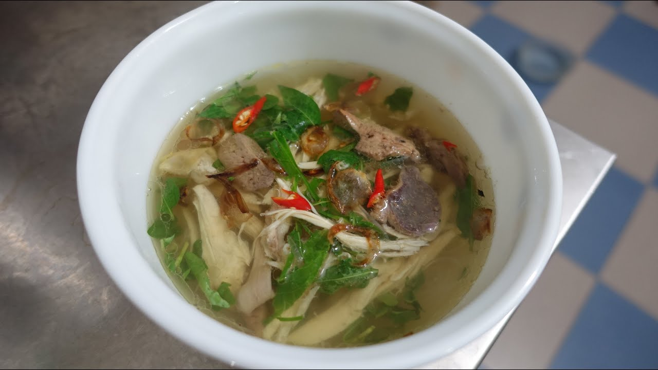 Chicken Glass Noodle Soup Mien Ga Youtube