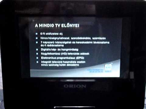 f879c436057ec Orion DVD-player+DVB-T tuner - YouTube