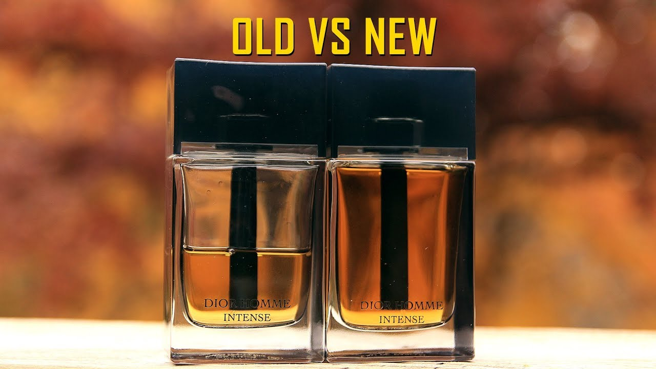 Dior Homme Intense Formula Comparisons Vintage Vs Modern Dior