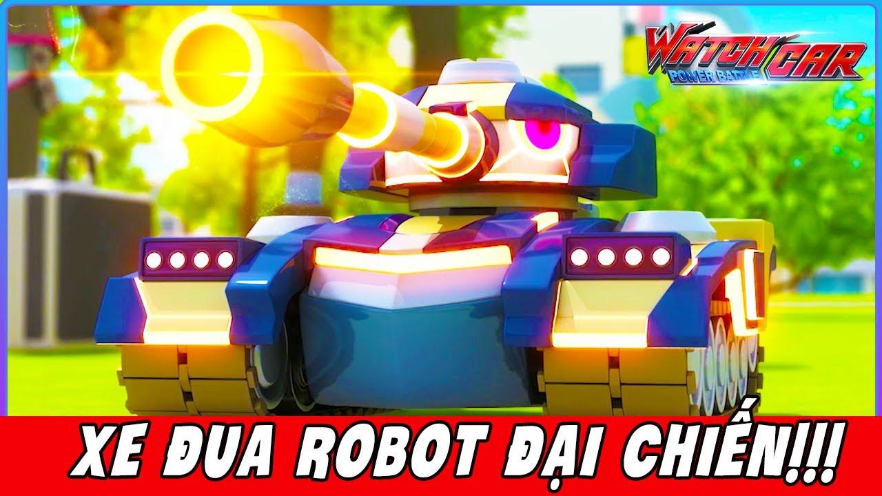 💥 WatchCar 💥 Xe Đua Robot Biến Hình Đại Chiến – Tập 16 | Phim Hoạt Hình Ô Tô Robot Hay Nhất