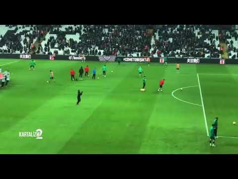 Shinji Kagawa Beşiktaş Tribünlerini Selamlıyor | VODAFONE PARK'TA JAPON USULÜ