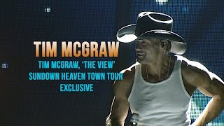 Watch Tim McGraw The View video