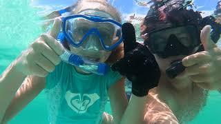 Snorkeling at the Destin Jetties - raw video 2
