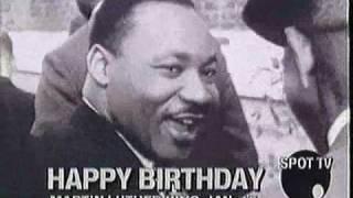 Martin Luther King Birthday  (Happy Birthday to Ya)