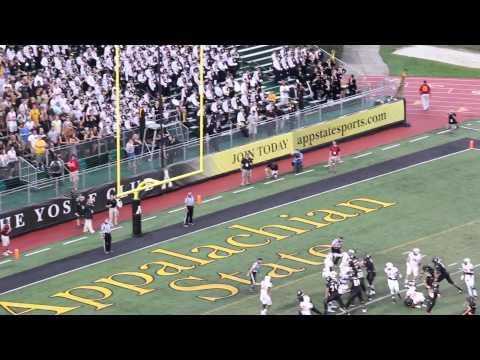 Mountaineer Football Highlights 2014- Campbell University versus Appalachian State University