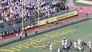 Mountaineer Football Highlights 2014- Campbell University versus Appalachian State University