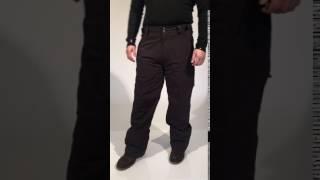 Cartel Kicker Men Plus Size Ski Pant Black - Boomerang Instagram
