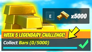 Collect Bars LOCATIONS & BEST WAYS To Collect Bars - Fortnite