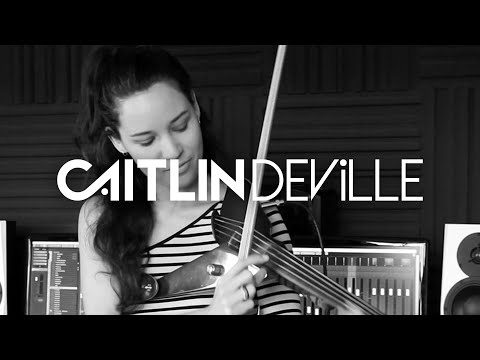 Crying in the Club (Camila Cabello) - Electric Violin Studio Cover | Caitlin De Ville