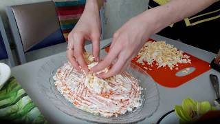 Салат Селедка под шубой рецепт / Салат на Новый год
