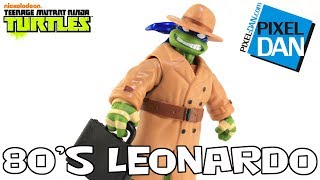 80's Leonardo in Trenchcoat Teenage Mutant Ninja Turtles Action Figure Video Review