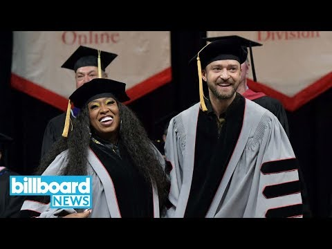Justin Timberlake and Missy Elliot Given Honorary Doctorates by Berklee | Billboard News Mp3