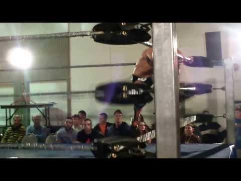 Josh Rogen and Shane Sabre vs Psycho Mike Rollins and Justin Sane Dec 1 2013 alpha1