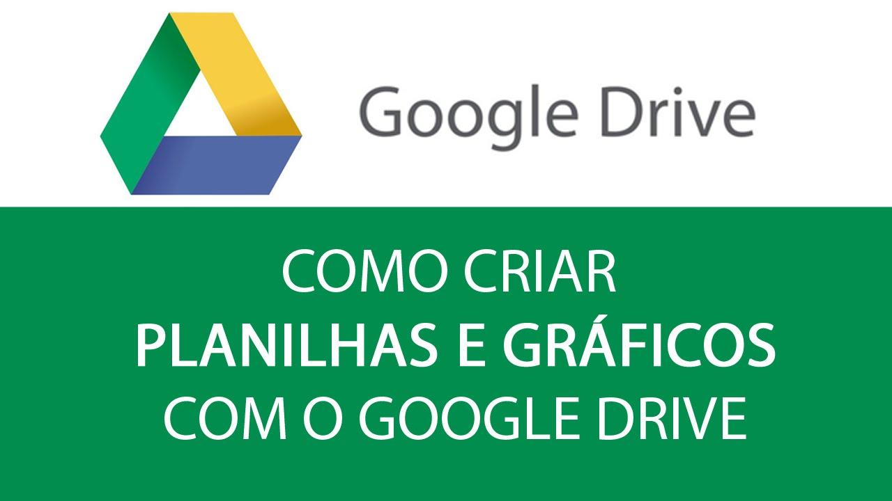 Como criar planilhas e grficos no google drive youtube como criar planilhas e grficos no google drive stopboris Image collections